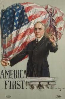A 1920 campaign poster.